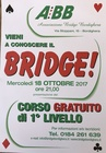 AL VIA I CORSI DI BRIDGE